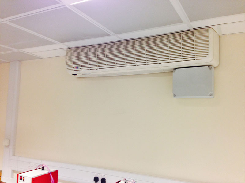 Air conditioning in commercial premises Sheffield