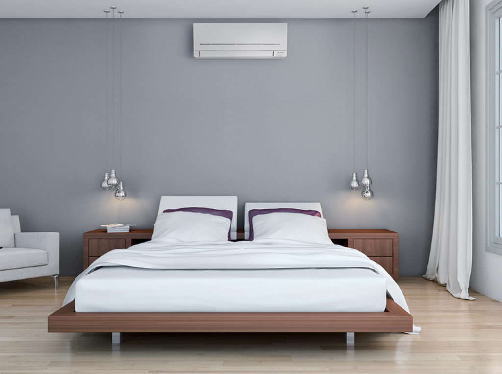 Bedroom Air Conditioning in Sheffield